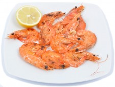 Grilled prawns (10dkg)
