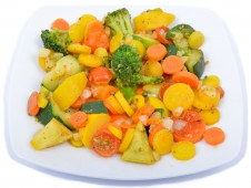 Simmered vegetable mix