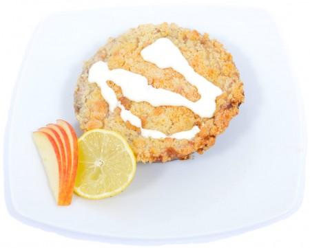 Almás -citromos crumble cake