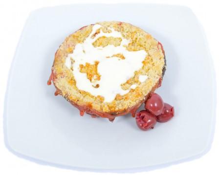 Cseresznye és áfonya crumble cake