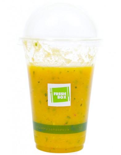 mandarin-alma-banán-narancs smoothie friss mentával (3dl)